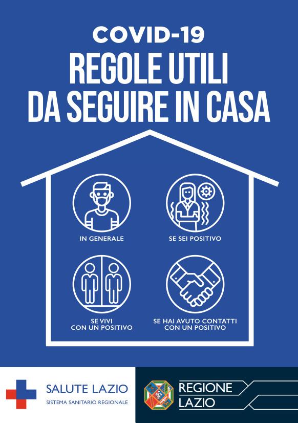 COVID-19: Regole utili da seguire in casa